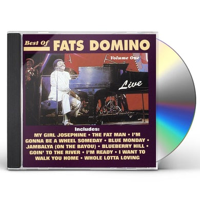 Fats Domino BEST OF LIVE 1 CD