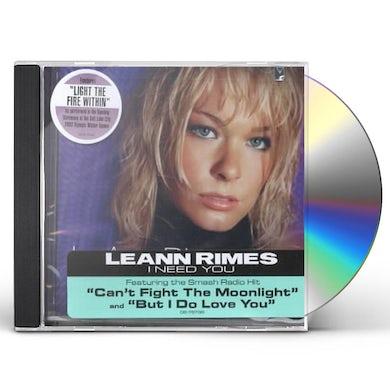 LeAnn Rimes I NEED YOU CD