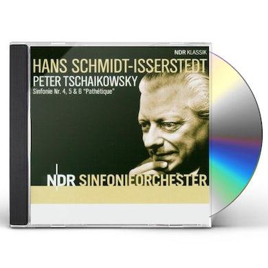 P.I. Tchaikovsky SYM 4-6 CD