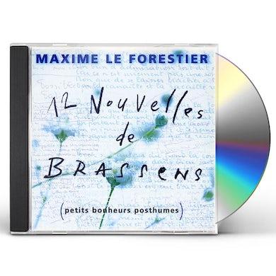 Maxime Le Forestier 12 NOUVELLES DE BRASSENS CD