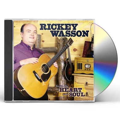 Rickey Wasson FROM THE HEART & SOUL CD