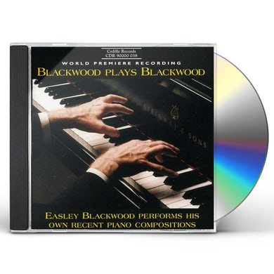 Blackwood PLAYS BLACKWOOD: RECENT PIANO WORKS CD