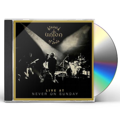Blessid Union Of Souls LIVE AT NEVER ON SUNDAY CD