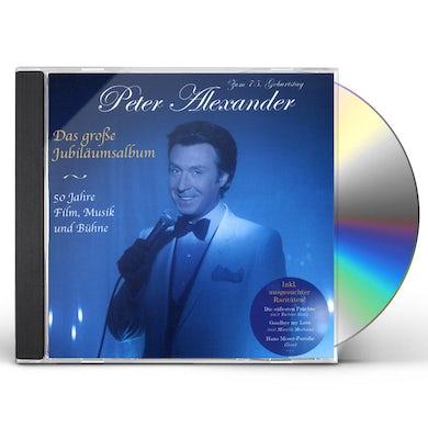 Peter Alexander DAS GROSSE JUBILAUMSALBUM 50 JAHRE FILM CD