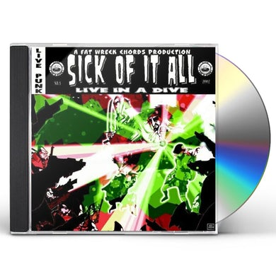 Sick Of It All LIVE IN A DIVE CD