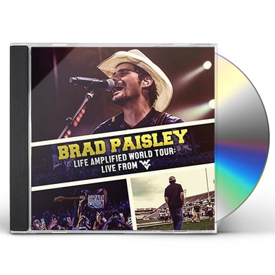 Brad Paisley LIFE AMPLIFIED WORLD TOUR: LIVE FROM WVU CD