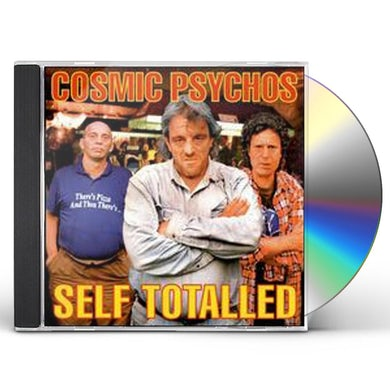 Cosmic Psychos SELF TOTALED CD