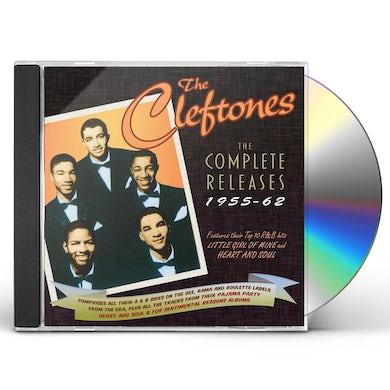 Cleftones COMPLETE RELEASES 1955-62 CD