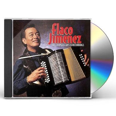 Flaco Jimenez COMPLETE ARISTA RECORDINGS CD