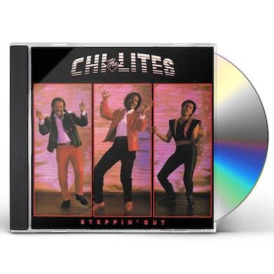 Chi-Lites STEPPIN' OUT (BONUS TRACKS EDITION) CD
