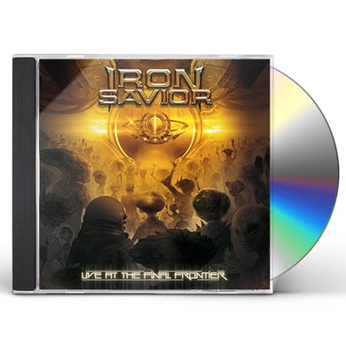 Iron Savior LIVE AT THE FINAL FRONTIERS CD