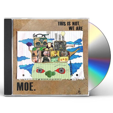 moe. This Is Not, We Are / Not Normal (2 CD) CD