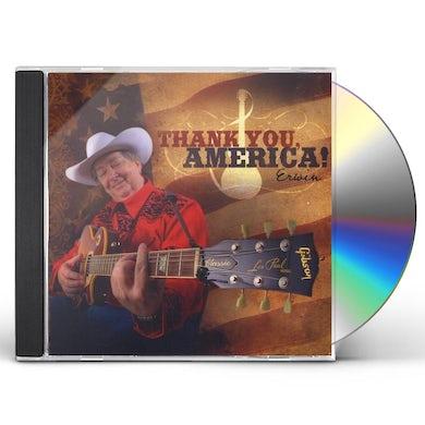 Erwin THANK YOU AMERICA! CD