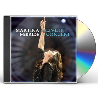 MARTINA MCBRIDE: LIVE IN CONCERT CD