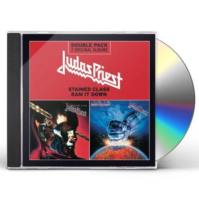 Judas Priest STAINED CLASS + RAM IT DOWN CD