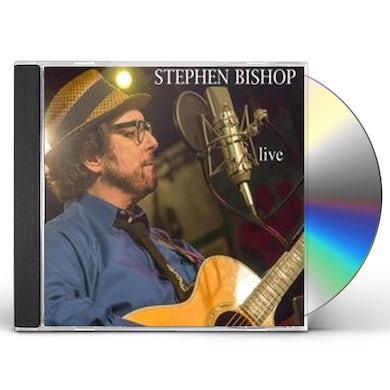 Stephen Bishop LIVE CD