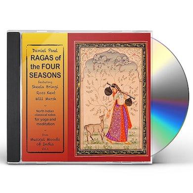 Daniel Paul MUSICAL MOODS OF INDIA 1: RAGAS OF FOUR SEASONS CD