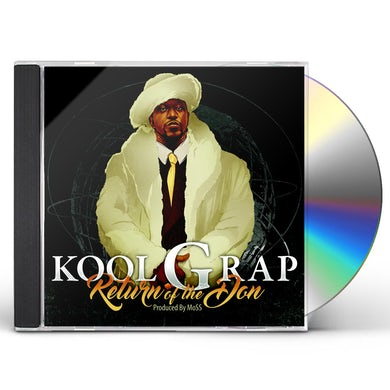 Kool G Rap RETURN OF THE DON CD
