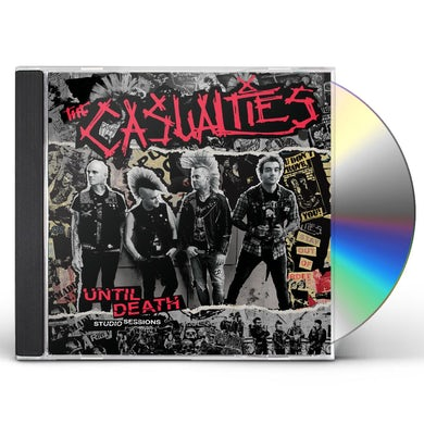 The Casualties UNTIL DEATH - STUDIO SESSIONS CD