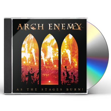 Arch Enemy AS THE STAGES BURN CD
