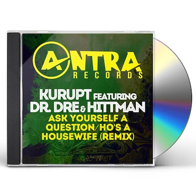 Kurupt ASK YOURSELF A QUESTION / HO'S A HOUSEWIFE (REMIX) CD