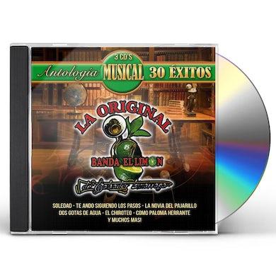 La Original Banda El Limon ANTOLOGIA MUSICAL: 30 EXITOS CD