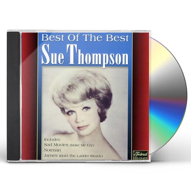 Sue Thompson BEST OF THE BEST CD