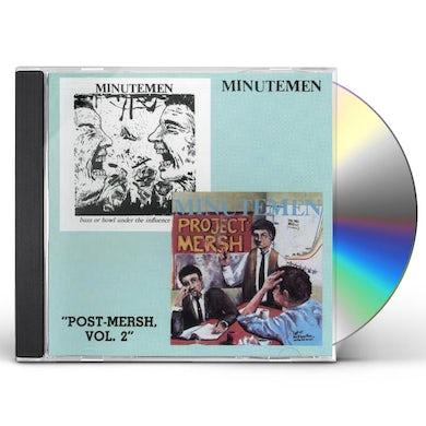 Minutemen POST MERSH 2 CD