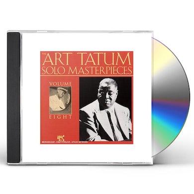 Art Tatum SOLO MASTERPIECES 8 CD