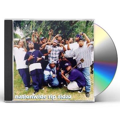 Crips NATIONWIDE RIP RIDAZ CD