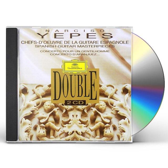 Narciso Yepes CHEFS D'OEUVRE DE LA GUITARE ESPAGN CD