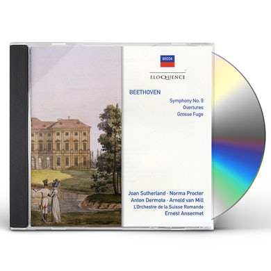 Ernest Ansermet ELOQUENCE: BEETHOVEN - SYMPHONY NO 9 / OVERTURES CD