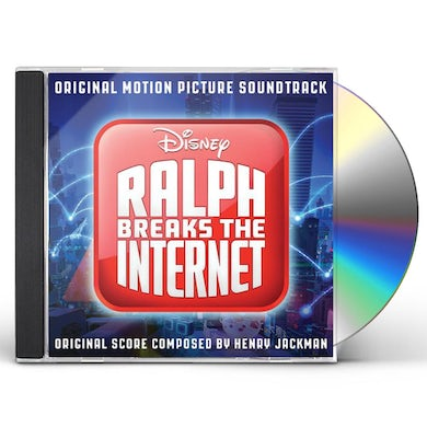 Henry Jackman Ralph Breaks the Internet CD