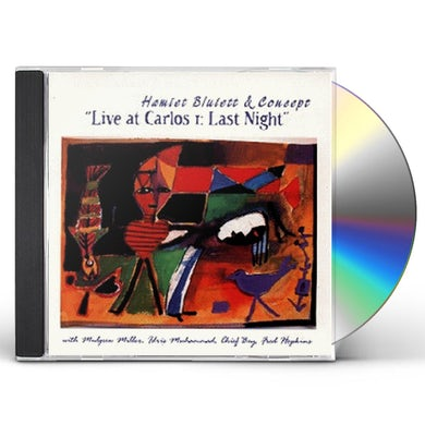 Hamiet Bluiett LIVE AT CARLOS I: LAST NIGHT CD