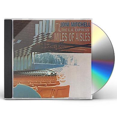 Joni Mitchell MILES OF AISLES CD