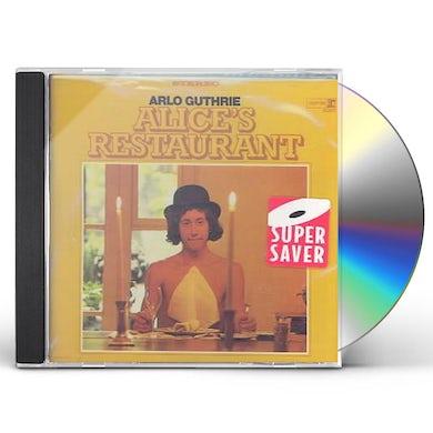 Arlo Guthrie ALICE'S RESTAURANT CD
