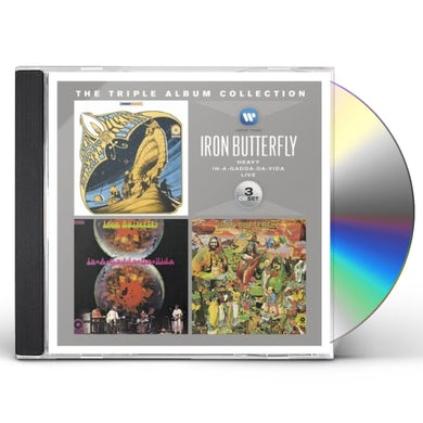 Iron Butterfly TRIPLE ALBUM COLLECTION CD