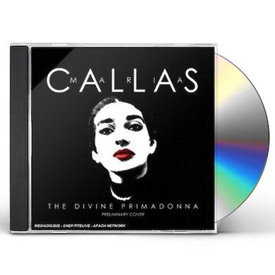 Maria Callas DIVINE PRIMADONNA CD