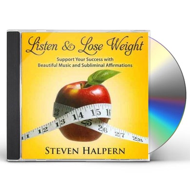 Steven Halpern LISTEN & LOSE WEIGHT CD