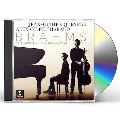 Alexandre Tharaud BRAHMS: SONATAS HUNGARIAN DANCES CD