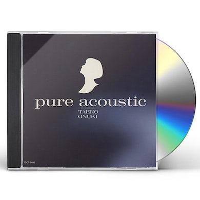 Taeko Onuki PURE ACOUSTIC CD