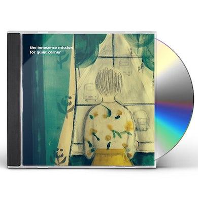 Innocence Mission FOR QUIET CORNER CD