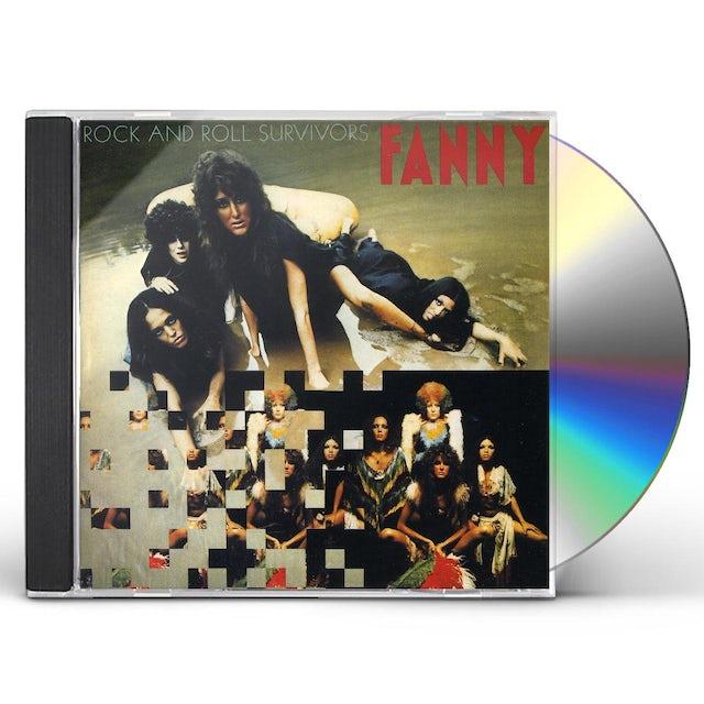 Fanny ROCK & ROLL SURVIVORS CD