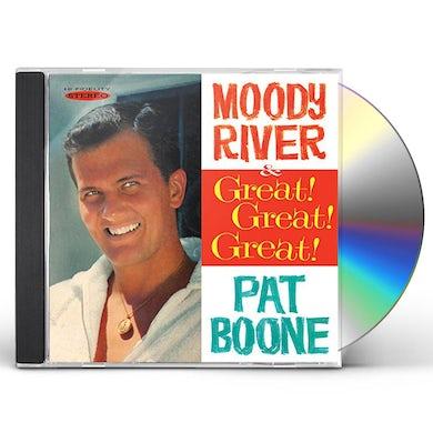 Pat Boone GREAT GREAT GREAT / MOODY RIVER CD