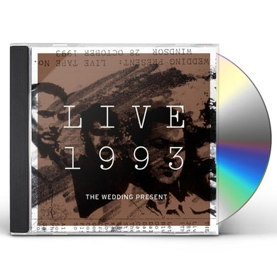 The Wedding Present LIVE 1993 CD