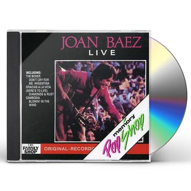 Joan Baez LIVE CD