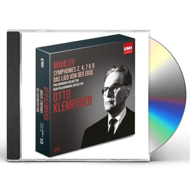 Otto Klemperer MAHLER: SYMPHONIES 2 4 7 & 9 CD