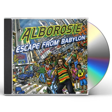Alborosie ESCAPE FROM BABYLON CD