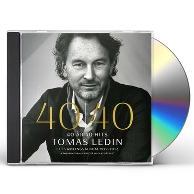 Tomas Ledin 40 AR 40 HITS ETT SAMLINGSALBUM CD