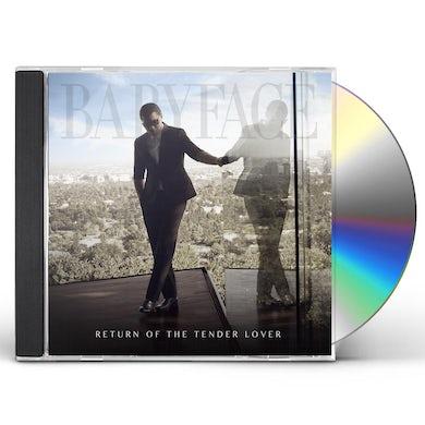Babyface RETURN OF THE TENDER LOVER CD